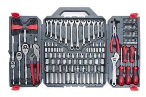 170-Piece Mechanics Tool Set by Crescent