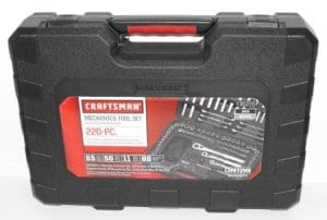 220-Piece Mechanics Tool Set by Craftsman