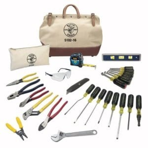 28-piece Electrician Toolset from Klein Tools