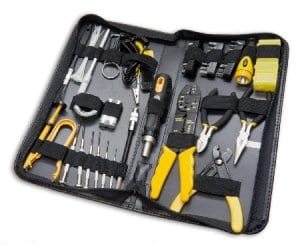 58-piece Tool Kit for Electricians