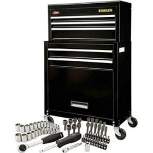 Stanley Rolling Tool Chest with Mechanic Set