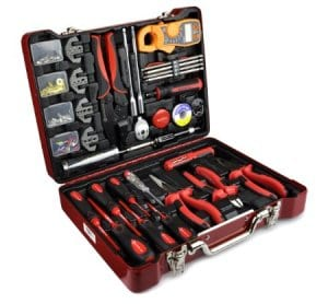 The insulated Electricians Hand Tool Set from Bovidix