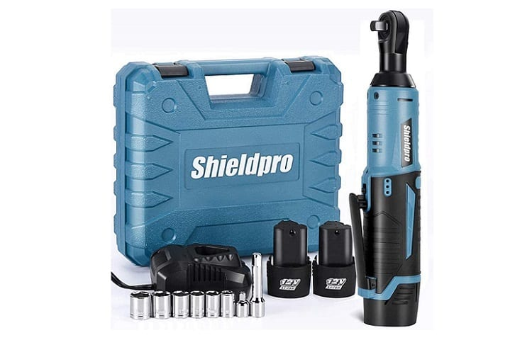 Shieldpro Cordless Electric Ratchet Wrench Kit Review