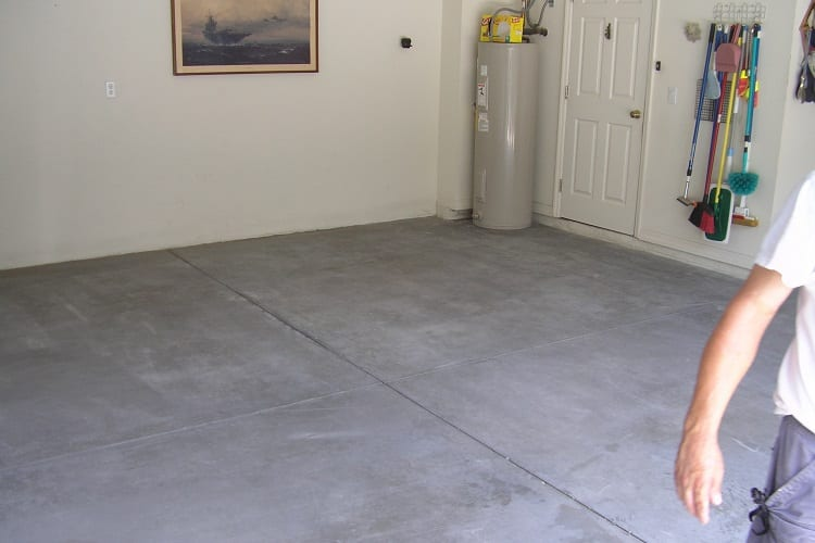 CONCRETE WITH COATING