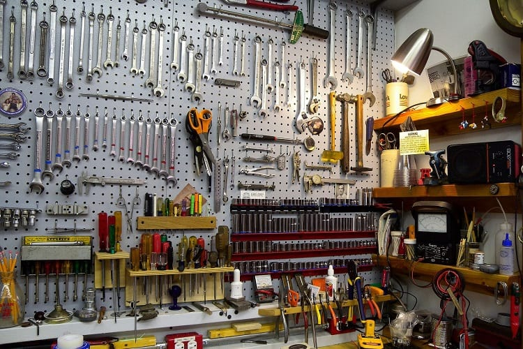 Store Your Tools Off The Floor