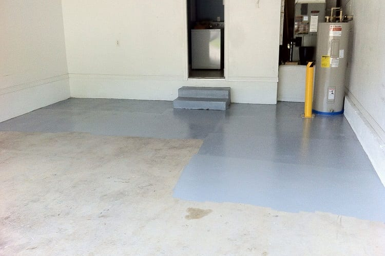 Apply Floor Stain To Your Garage In Five Steps