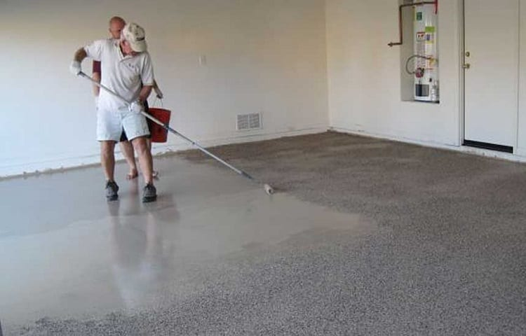 How To Apply Water-Based Stain To Concrete